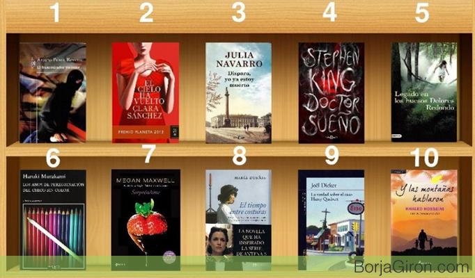 top 10 libros bestsellers
