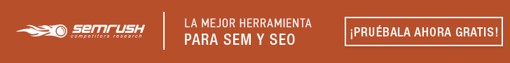 SEMrush - Herramienta SEO SEM