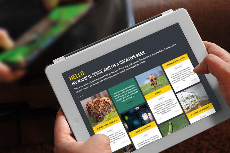 como crear web blog responsive