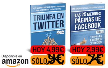 Oferta Libros Twitter Facebook