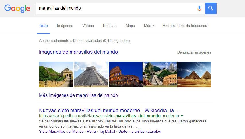 imágenes en Google para SEO