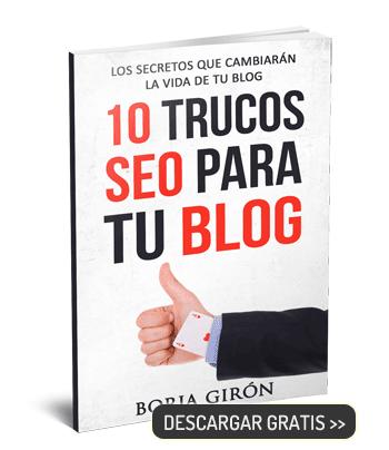 10 trucos SEO para tu blog