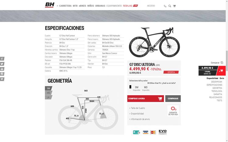calidad contenido BH tienda online
