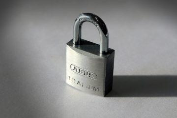 lopd proteccion candado