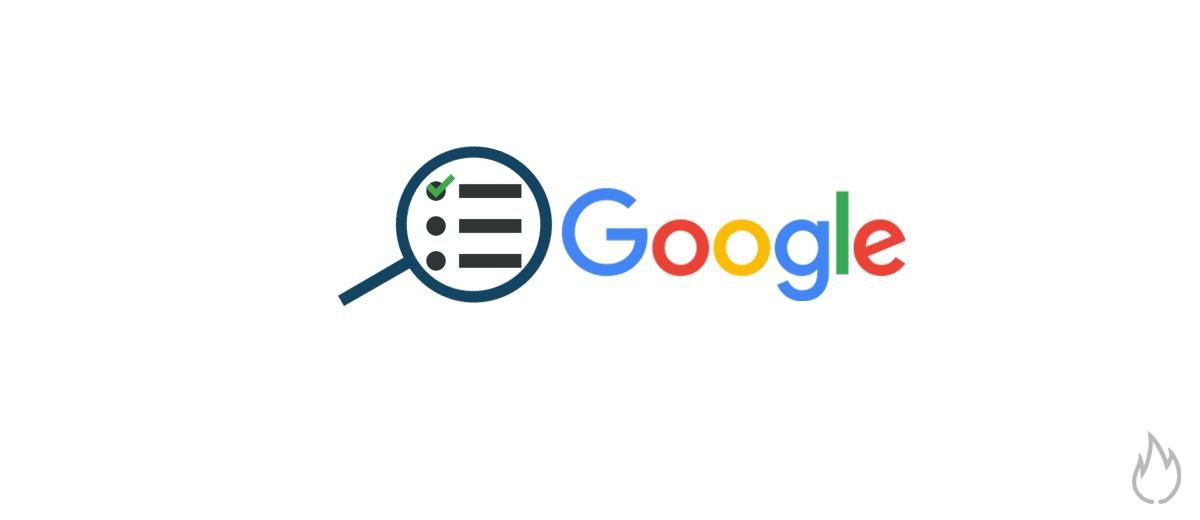 Cómo salir en Google