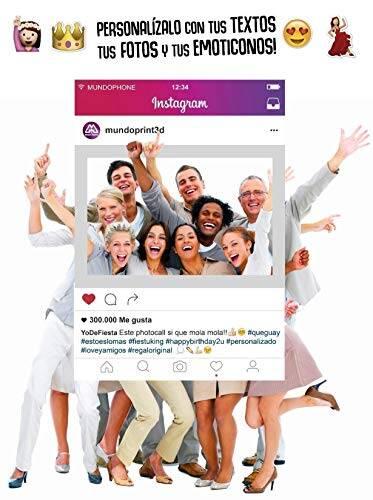 marco photocall tienda acciones instagram
