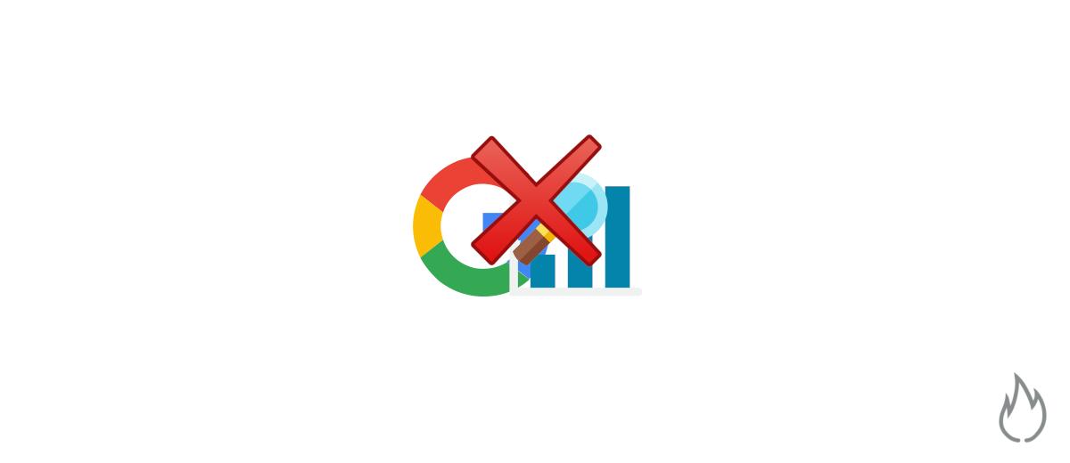 Cómo no salir y desaparecer de Google