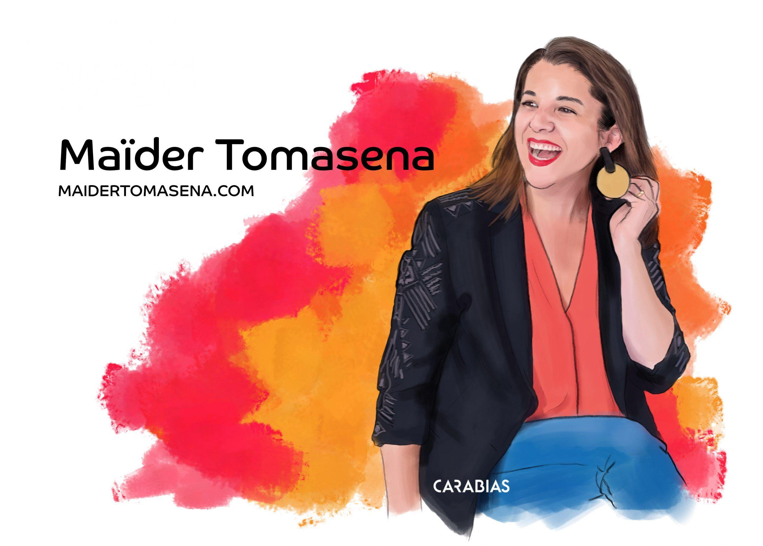 ilustracion Maider Tomasena dibujado por Carabias