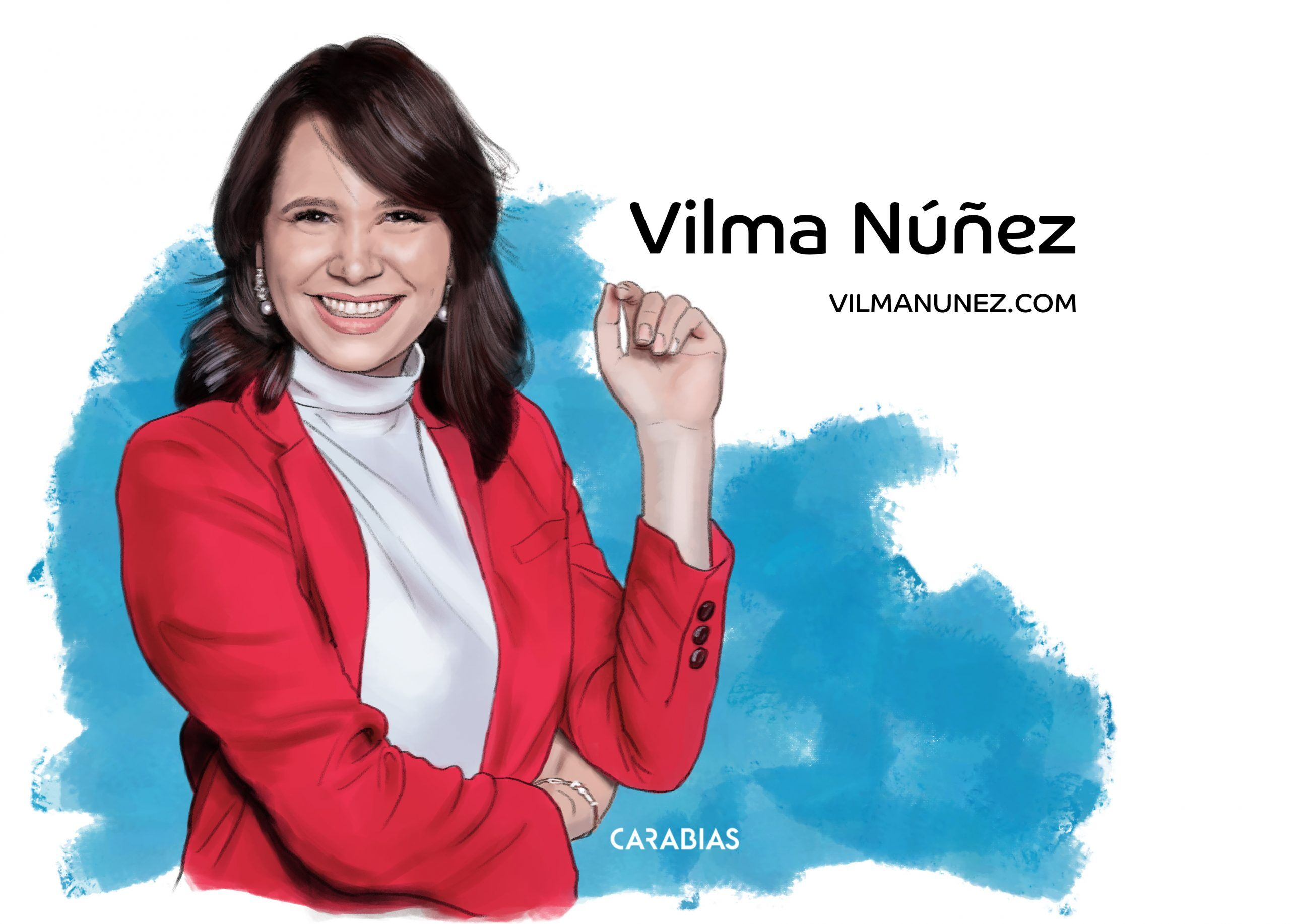 ilustracion Vilma Nuñez dibujado por Carabias